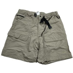 The North Face Belted Tan Beige Cargo Shorts AQ28